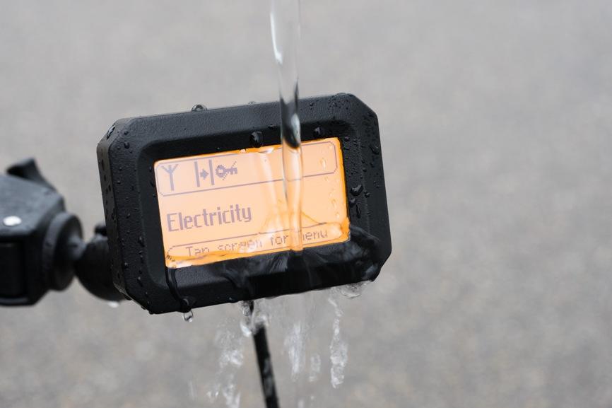 Sirius Panel getting very wet