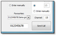 Send DSC message