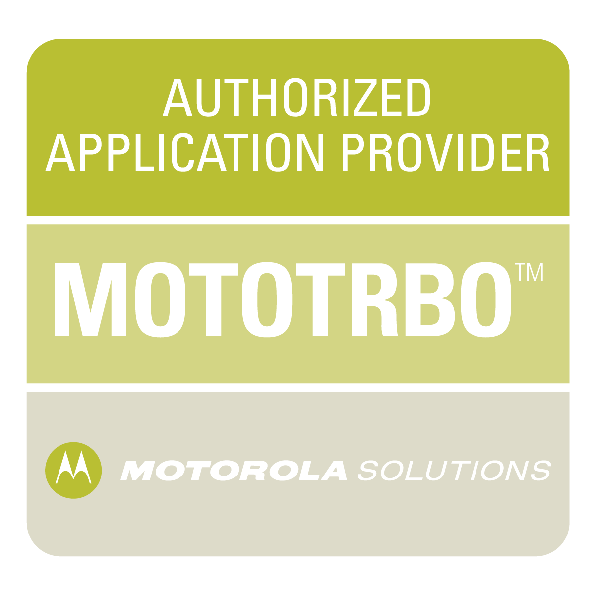 Authorized Application Provider for MotoTrbo