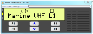 Virtual Control Head for CDM1250