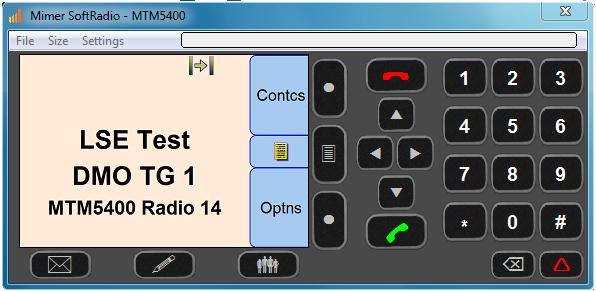 Virtuellt kontrollhuvud för MTM5400