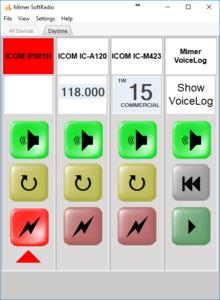 SoftRadio dispatcher with LTE-Radio