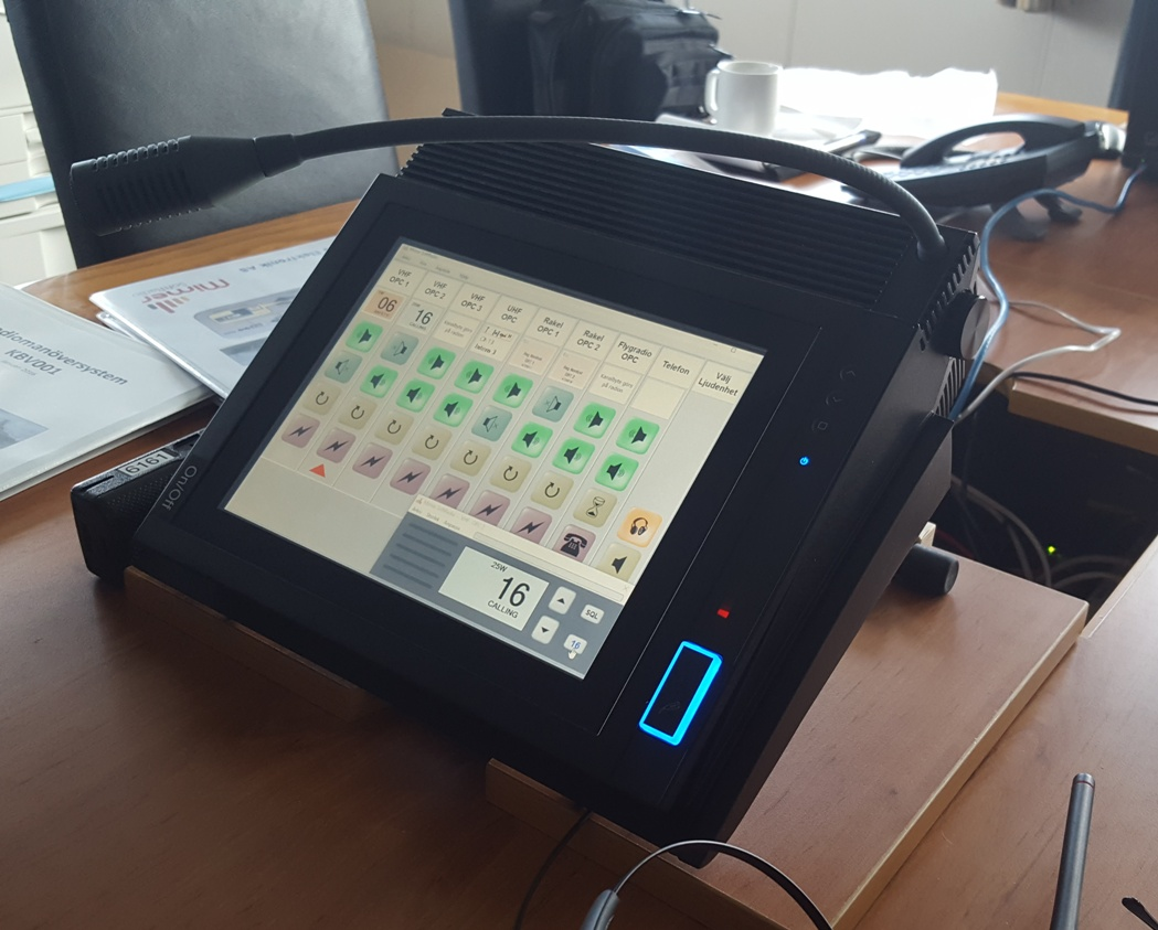 SoftRadio on a Tipro operator PC