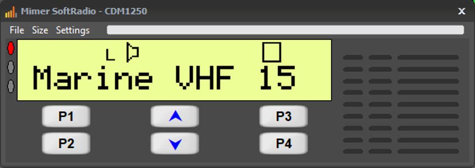 Virtual Control Head CDM1250