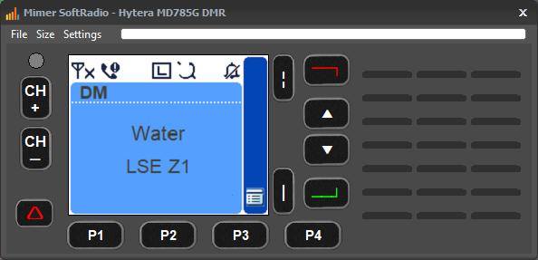Virtual Control Head for MD785