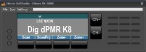 Virtual Control Head of Kenwood NX-5800