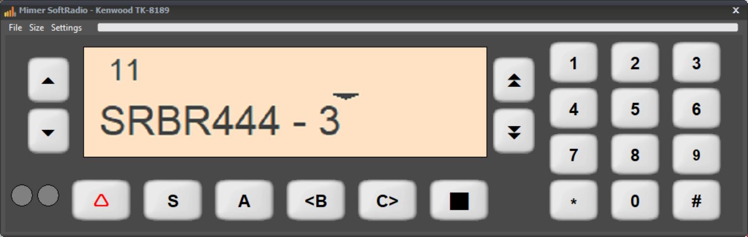 Virtual Control Head TK8189