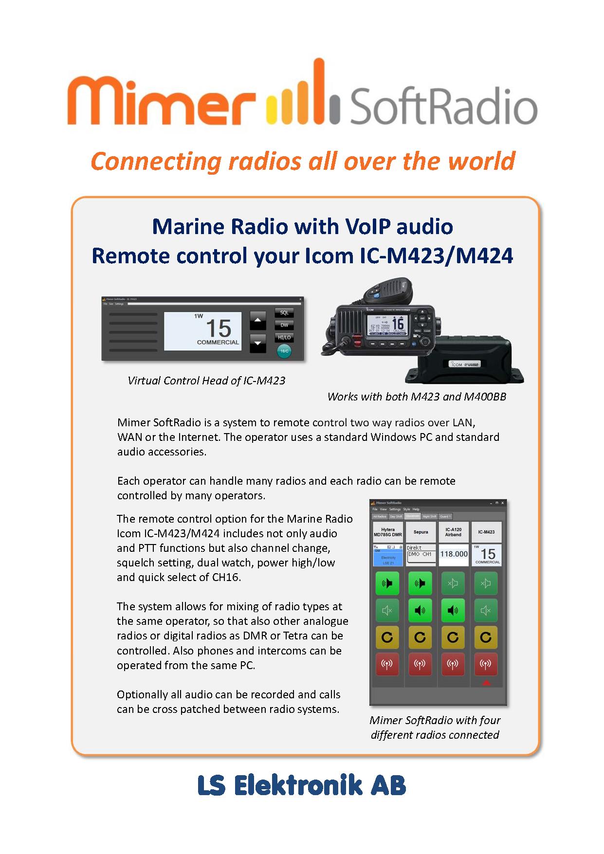 Icom Marine Brochure