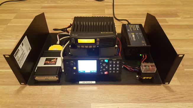 X-Link with Sepura Tetra and Icom programmed for the Marine Band