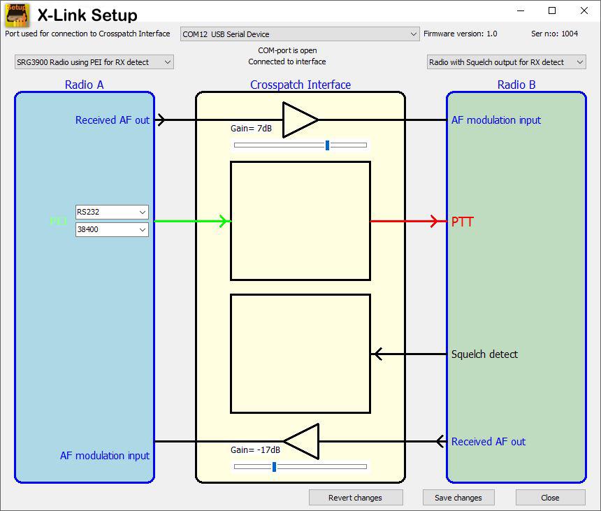 X-Link setup program