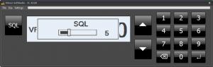 Virtual Control Head, Icom IC-A120, squelch setting active