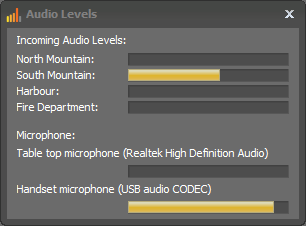 Audio Levels in SoftRadio