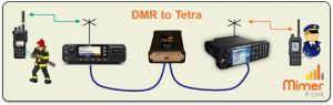 X-Link connection with DMR and Tetra
