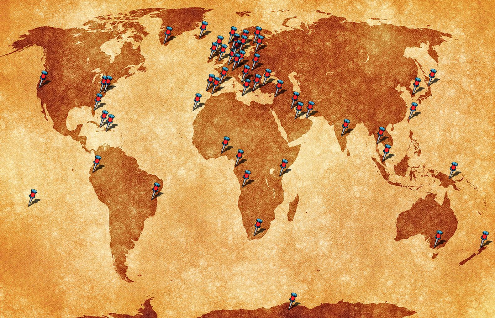 SoftRadio customers around the globe
