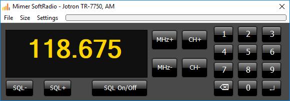Jotron Airband radio