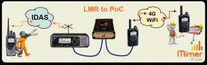 X-Link LMR to PoC
